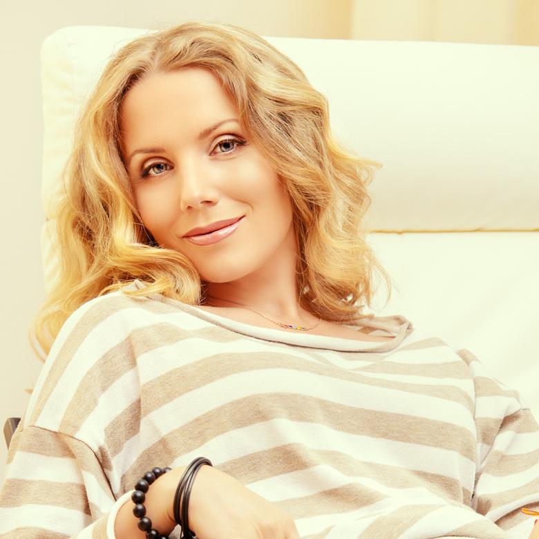 Aimee testimonial of pelle dolce anti aging cream